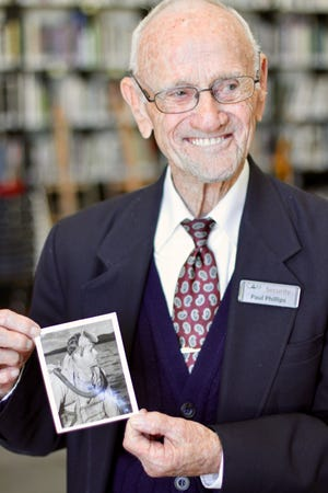 WWII veteran and longtime Cameron Art Museum security guard Paul Phillips passed away at the age of 93 on Jan. 19, 2021.
