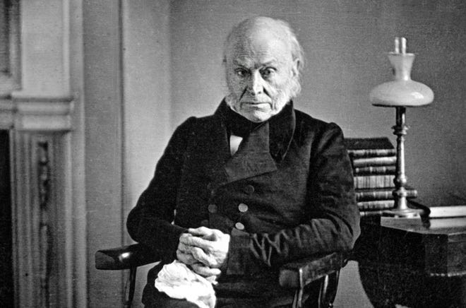 John Quincy Adams, like his father John Adams and his fellow-ex-president Donald Trump, refused to attend his successor's inauguration.
