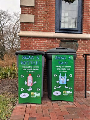 The Zwaanendael Museum is seeking donations of plastic bottles and bags that will be used to offset the purchase price of a recycled-plastic bench that will be placed outside the front entrance of the museum.