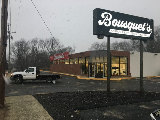 The new location of the Danielson Bousquet's Appliance and TV, formerly a Benny's, opened on Monday.