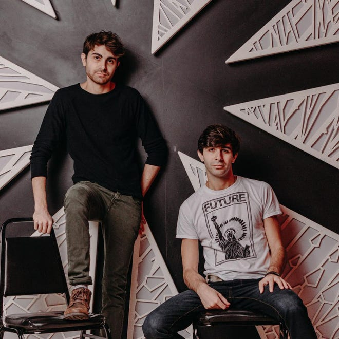 Brothers Daniel and Patrick Lazour began writing musicals as teenagers for the local theater group Calliope Productions in Bolyston.
