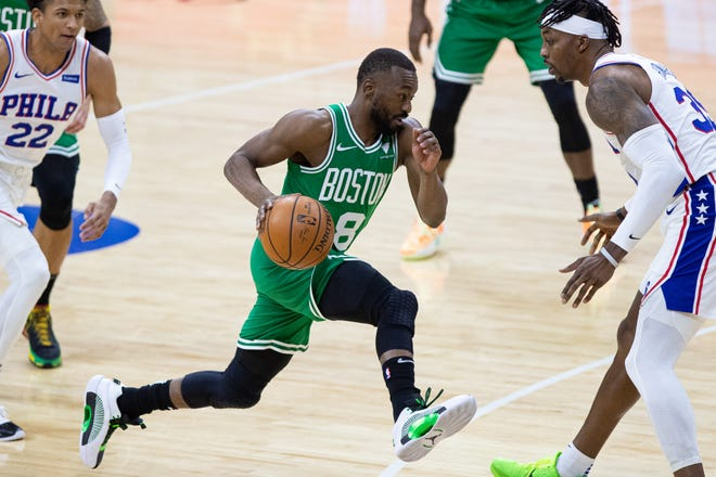 Kemba Walker's play in Philadelphia was a bright spot in Wednesday night's loss by the Celtics.