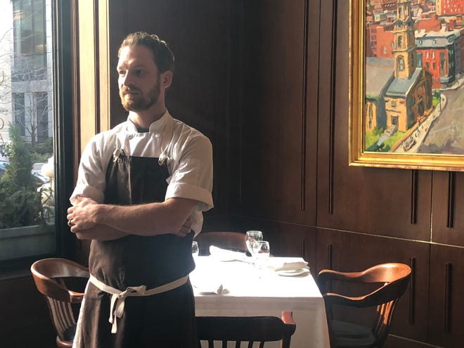 Worcester resident Ryan Marcoux took up his new position as executive chef at Grill 23 and Bar in Boston's Back Bay in December.