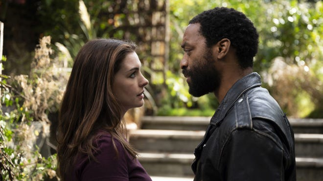 """Anne Hathaway and Chiwetel Ejiofor star in """"Lockdown."""""""