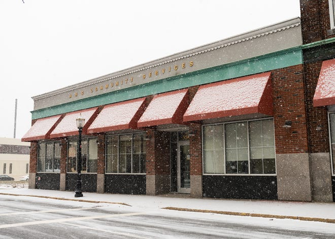 The building that once housed A&P supermarket is now owned by a social services agency.