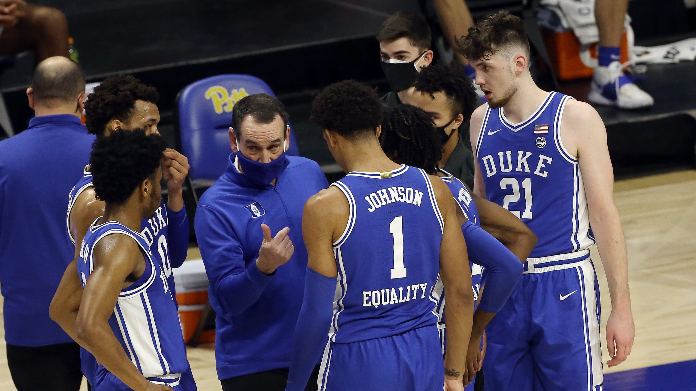 Push the panic button? Duke's Coach K says 'I don't have one'