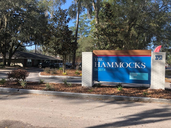 The Hammocks on 20th, 3751 SW 20th Ave. The newly renovated apartment complex features upgraded community amenities and furniture and appliance upgrades.