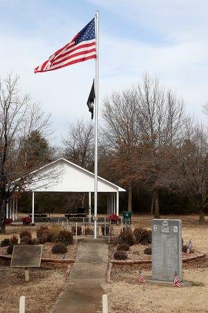 The Booneville Veterans Memorial Park as seen, Thursday, Jan. 21, at 497 E. Main in Booneville.