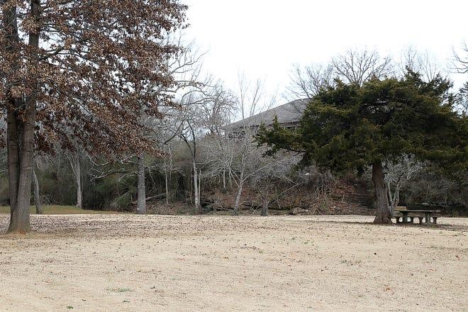 Booneville Veterans Memorial Park, behind the Booneville Municipal Complex, 497 E Main, as seen, Thursday, Jan. 21.