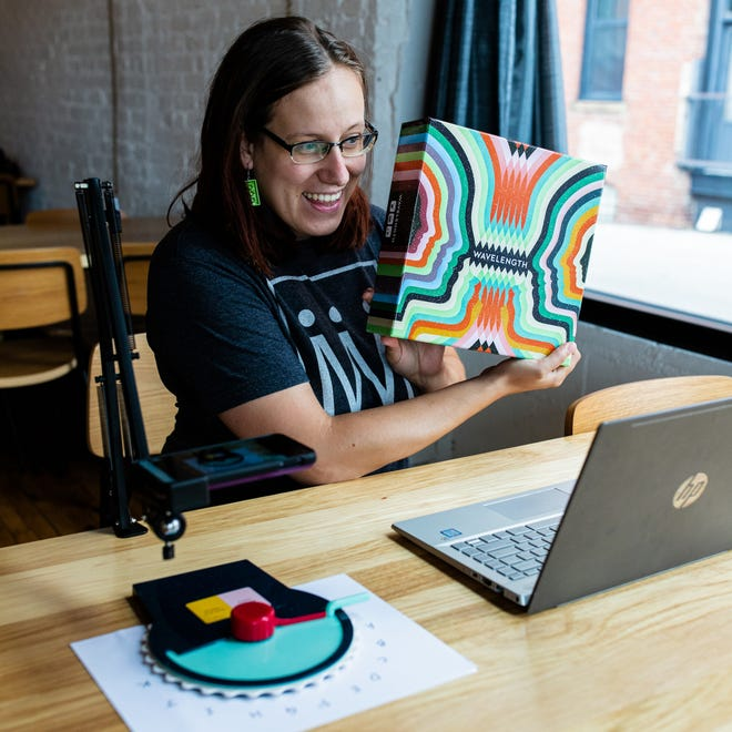 Alyssa Massey is a game guide for Kingmakers, a Columbus company that coordinates virtual and in-person games and beer and wine-tasting events. Kingsmakers will coordinate a virtual beer-tasting Feb. 25 for the Upper Arlington Parks and Recreation Department.