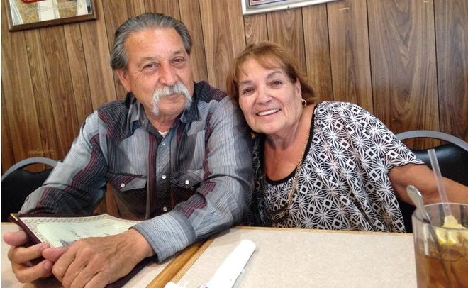 """Barstow couple Andres """"Andrew"""" Manfor Vallejos Sr., 70, and Mable Diane Vallejos, 68, died days apart in early January after contracting COVID-19 in December."""