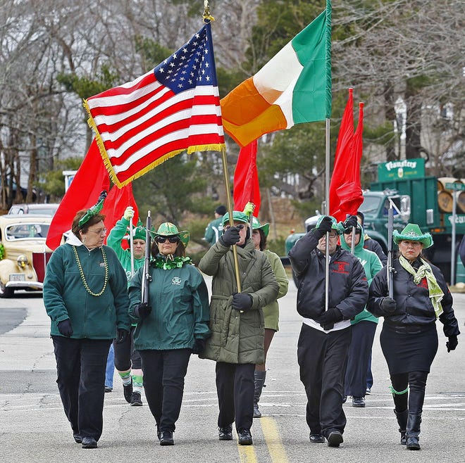 The Scituate St. Patrick's Day parade has been postponed for a second year due to concerns over COVID-19.  Plans are to hold the parade in the fall.