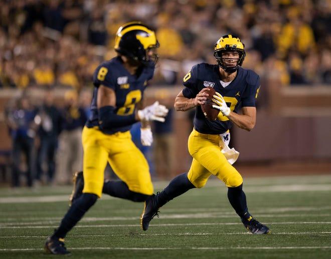 Michigan quarterback Dylan McCaffrey has entered the NCAA transfer portal.