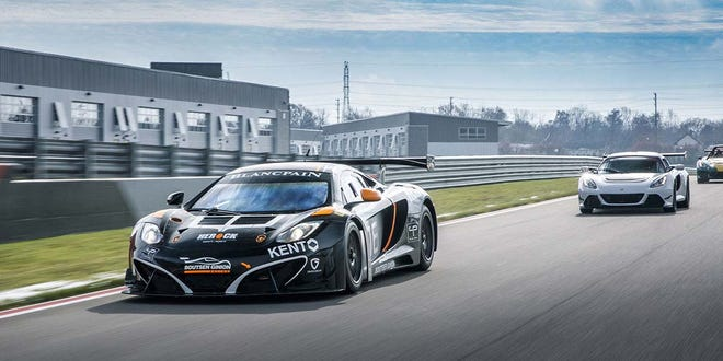 Supercars will run hot lpas at the American Festival of Speed.