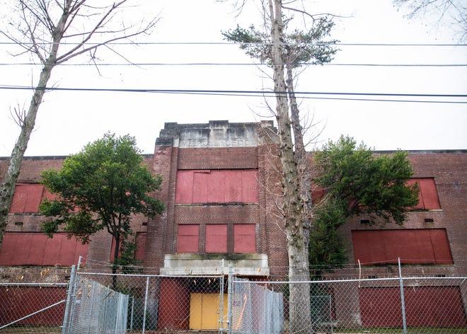 Historic Melrose High School sits vacant in Memphis, Tenn., on Thursday, Jan. 21, 2021.