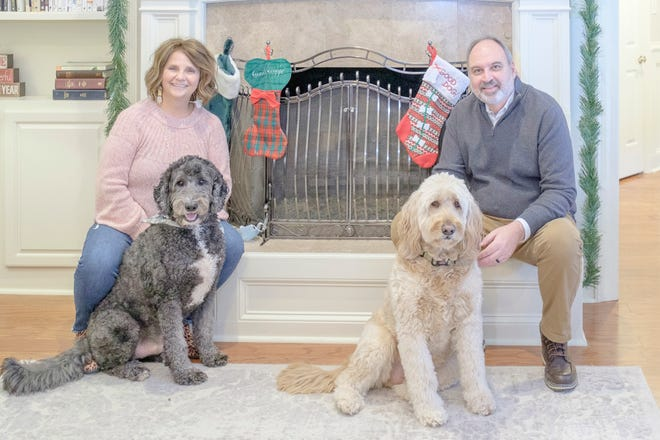 Suzanne and Mark White, and their canine companions Jack and Toby, feel they've found their dream home.