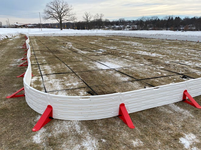 A new ice rink will soon be available for use at Wauwatosa's Hart Park.