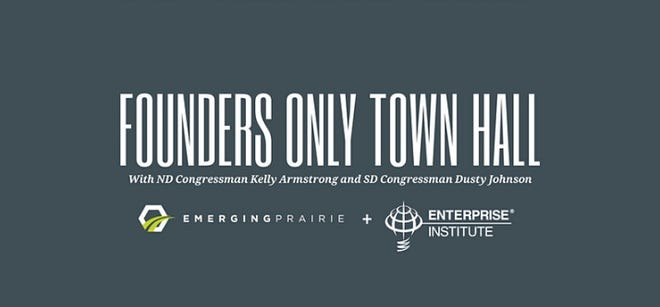 The Founders Only Town Hall will be hosted virtually at noon on Feb. 3.