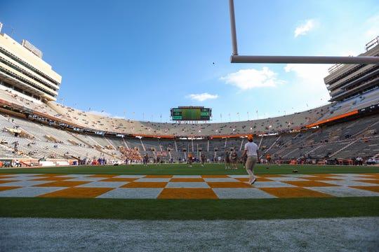 Tennessee's Neyland Stadium.