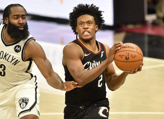 Cavaliers guard Collin Sexton was not among the Eastern Conference players selected as reserves for the All-Star Game. [Associated Press]