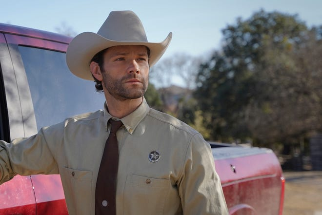 """Jared Padalecki as Cordell Walker in the pilot of """"Walker,"""" the CW's reboot of """"Walker, Texas Ranger."""""""
