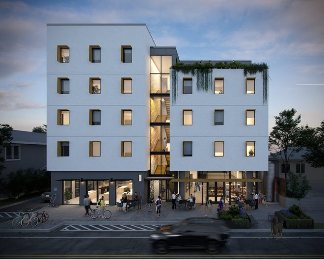 Weaver Buildings has begun construction in downtown Austin on a residential/retail building that its developer says will provide workforce housing for up to 90 people, in 30 units of three bedrooms each
