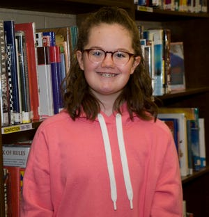 Madison Coblentz is The Alliance Review's Robertson's Heating Supply Company Kid of Character for January.