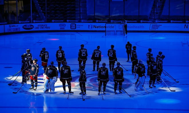 The Blue Jackets will open the 2021-22 season on Oct. 14 against the Arizona Coyotes.