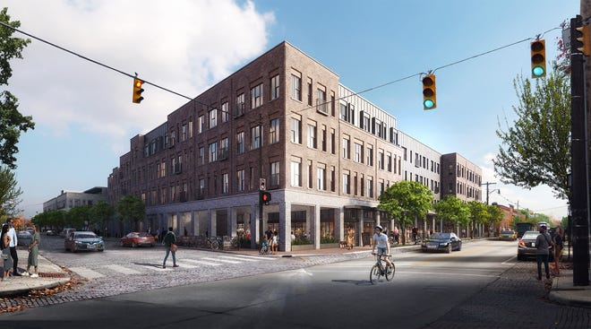 A proposed redevelopment at 280 East Whittier Street is drawing the ire of local residents who say that it is too tall.