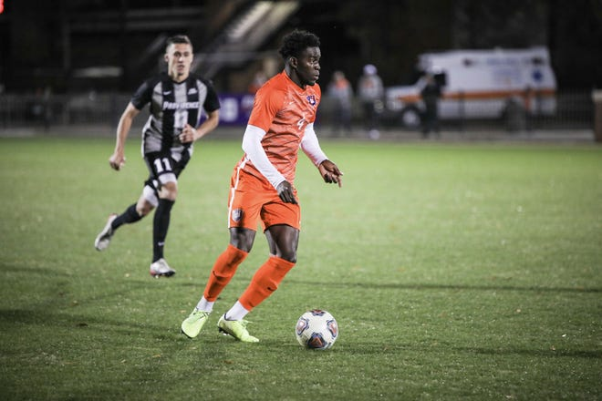 The Crew selected Clemson defender Justin Malou with the No. 27 overall pick in the 2021 MLS SuperDraft.