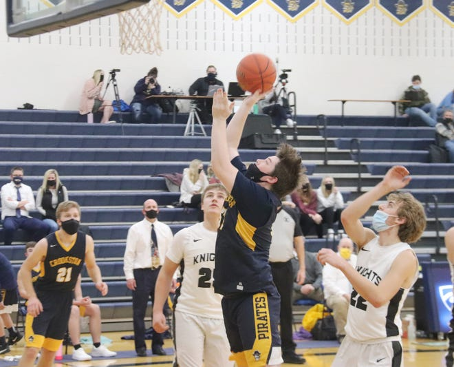 Carter Bruggeman scored 21 points to help lead Crookston to a 68-39 win over Climax-Fisher on Thursday.