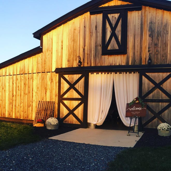 "Greg and Meghan Williams decided to not only have their own wedding in the barn at Rolling Acres, but to ""forward those blessings on to others starting their lives together"" as well."