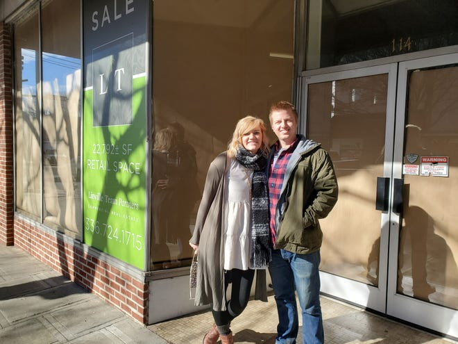 Bobbie and Bradley Key recently leased the former The Olde Homestead building on Main Street in Lexington and will open their home interior and women's accessories store Bristle + Pine in March if everything goes as planned.