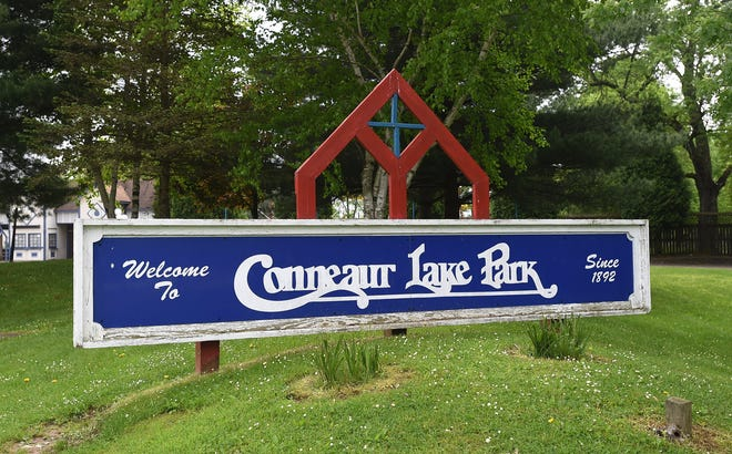 Conneaut Lake Park in Crawford County, shown on May 23, will open for the season on May 26.