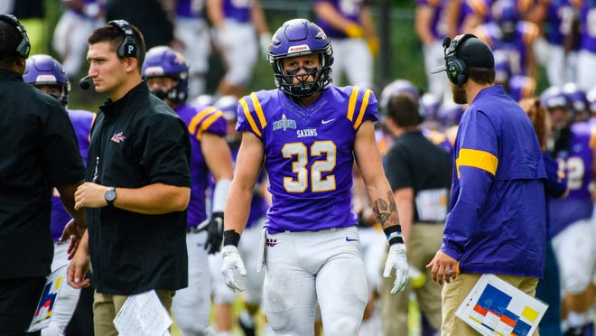 Alfred University linebacker Nick Milgate was drafted by AFC Rangers Mödling of the Austrian Football League
