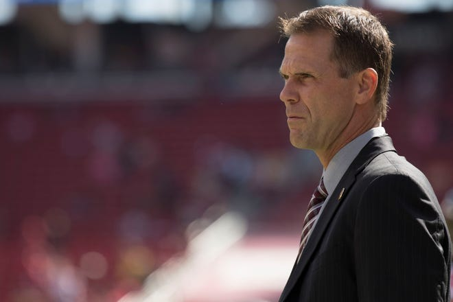 The Jaguars officially promoted interim general manager Trent Baalke to the full-time role on Thursday. Baalke previously served as GM of the San Francisco 49ers.