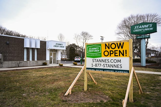 St. Anne's Credit Union has opened a new branch at 610 State Road in Westport.