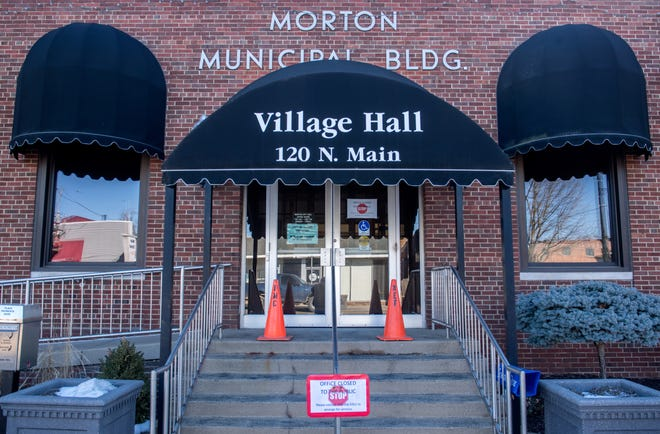 Morton Village Hall is closed to the public because of a lobby renovation, but village officials have been busy dealing with what they are calling price gouging by suppliers to the village's natural gas utility.