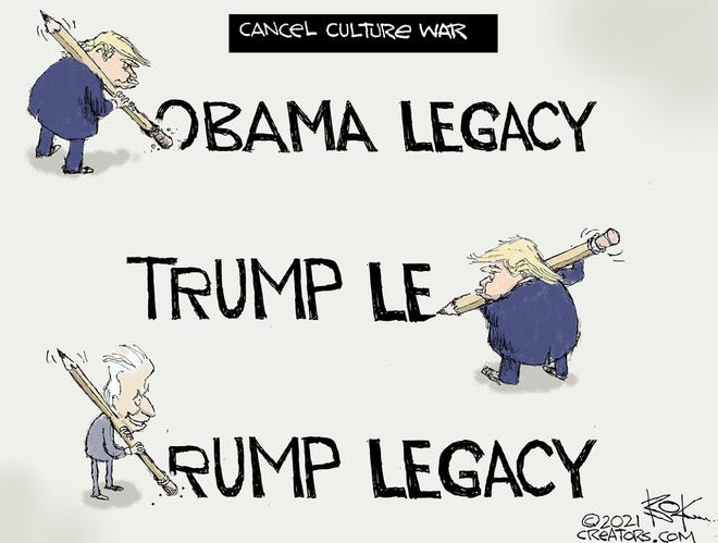 Today's editorial cartoon (Jan. 24, 2021)