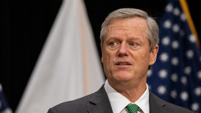 Gov. Charlie Baker told the Massachusetts Municipal Association on Friday that he will propose in his fiscal 2022 budget to fully fund, for the first time, a major school finance reform law passed in late 2019 that steers $1.5 billion to K-12 schools over seven years.
