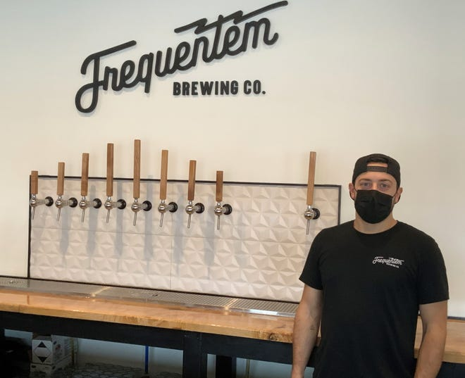 David D'Allesandro, owner of Frequentem Brewing Co. in Canandaigua, came up with Stout Month as a business pick-me-up during a normally slow time of year.