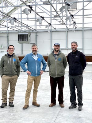 Sweet Dirt in Eliot is celebrating the completion of its state-of-the-art cannabis greenhouse, the largest in Maine.