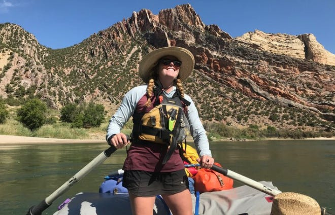 River guideAlyssa Winkelman, 28, of Mount Shasta in summer 2020. Winkelman is one of three woman who plan to film a documentary as they packraft and kayak down the Sacramento River in March. (January 2021)