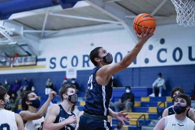 Hoku Fisher and Hoggard finally got on the court Thursday night at North Brunswick after several COVID-enforced delays.