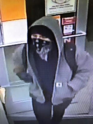 Suspect in armed robbery