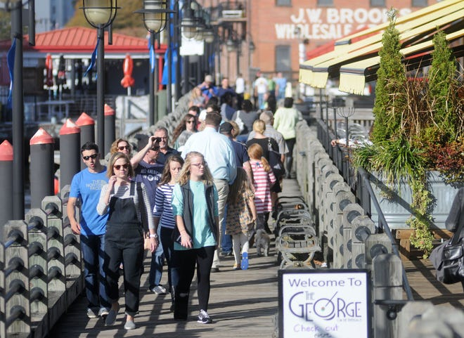 Wilmington's riverwalk is once again nominated for USA Today's America's Best Riverwalk, a publicly voted on title the city previously won in 2015.