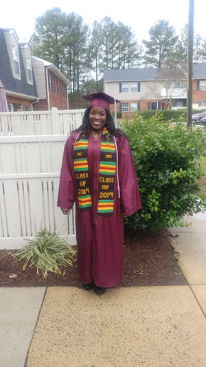 Tiffany Lovick recently earned her Bachelor's Degree in Biology. [CONTRIBUTED PHOTO]