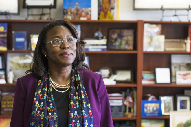 Topeka Unified School District 501 Superintendent Tiffany Anderson's contract has been extended another year, through the end of the 2023-24 school year.
