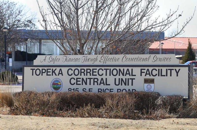 The Topeka Correctional Facility is currently the state's largest cluster for COVID-19 as of Friday.