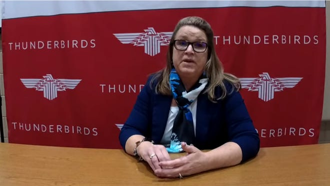 Juanita Erickson, superintendent at Neodesha USD 461, was the second candidate to interview for the Shawnee Heights USD 450 leadership position.
